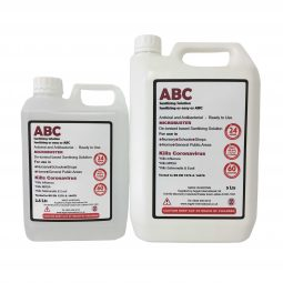 ABC MICROBUSTER De-ionised Sanitising Solution 2.5L/5L